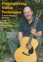 Fingerpicking Guitar Techniques 2-DVD Set (A Two Volume DVD Set) Sheet Music