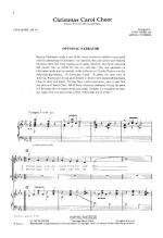 Christmas Carol Cheer Sheet Music Sheet Music