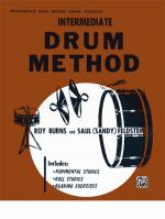 Drum Method, Intermediate - Book Sheet Music