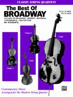 The Best in Broadway - Full Score & Parts Sheet Music