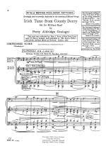Irish Tune From County Derry And Sherperd's Hey - SCORE AND PART(S) Sheet Music