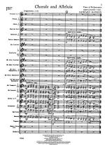 Chorale And Alleluia - FULL SCORE - LARGE Sheet Music
