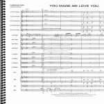 You Made Me Love You (I Didn't Want to Do It) - Conductor Score Sheet Music