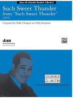 Such Sweet Thunder (from Such Sweet Thunder) - Conductor Score & Parts Sheet Music