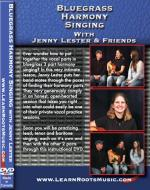 Bluegrass Harmony Singing DVD (With Jenny Lester & Friends) Sheet Music