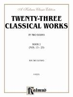Twenty-Three Classical Works For Two Guitars, Book 2 Sheet Music