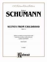 Scenes From Childhood, Opus 15 - Book Sheet Music