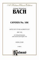 Cantata No. 106 - Gottes Zeit ist die allerbeste Aeit - Book Sheet Music