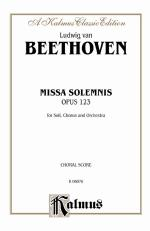 Missa Solemnis, Opus 123 - Book Sheet Music