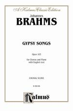 Gypsy Songs, Opus 103 - Book Sheet Music