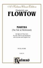 Martha - Vocal Score Sheet Music