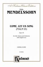 The 95th Psalm (O Come, Let Us Sing) - Book Sheet Music