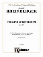 The Star Of Bethlehem, Opus 164 - Book Sheet Music