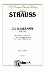 Die Fledermaus (The Bat) - Vocal Score Sheet Music