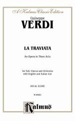 La Traviata - Vocal Score Sheet Music