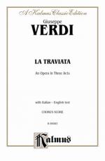 La Traviata - Chorus Parts Sheet Music