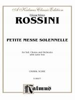 Petite Messe Solennelle - Book Sheet Music