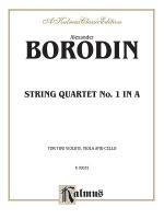 String Quartet No. 1 in A - Book Sheet Music