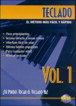 Teclado Vol. 1, Spanish Only DVD (You Can Play the Keyboard Now Vol. 1) Sheet Music
