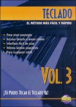 Teclado Vol. 3, Spanish Only DVD (You Can Play the Keyboard Now Vol. 3) Sheet Music
