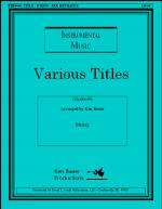 Songs Of Thankfulness And Praise (Quintet) Sheet Music