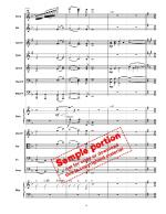 A Christmas Overture (Large Ensemble) Sheet Music