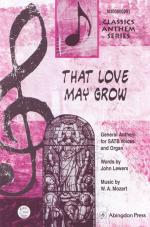 That Love May Grow Sheet Music