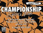 Championship Sports Pak (An All-Purpose Marching/Basketball/Pep Band Book For Time Outs, Pep Rallies Sheet Music