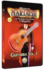 Metodo De Mariachi Guitarra, Vol. 1 Spanish Only DVD Sheet Music