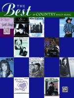 The Best in Country Sheet Music - Book Sheet Music