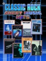 Classic Rock Sheet Music Hits - Book Sheet Music