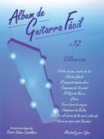Album de Guitarra Facil N.12: Villancicos - Book Sheet Music
