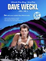 Ultimate Play-Along Drum Trax: Dave Weckl, Level 1, Volume 2 (Jam with Seven Stylistic Dave Weckl Tr Sheet Music