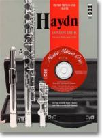 HAYDN Four 'London' Trios for 2 Flutes & Violoncello, HobIV:1-4 - Accompaniment CD (Audio) Sheet Music