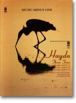 HAYDN Three Trios: F major (HobXV:17), D major (HobXV:16), and G major (HobXV:15) - Accompaniment CD Sheet Music