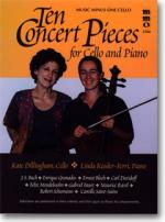 Ten Concert Pieces for Violoncello and Piano - Accompaniment CD (Audio) Sheet Music