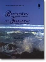BEETHOVEN Violoncello Sonata in A major, op. 69; TELEMANN Violoncello Duet in Bb - Accompaniment CD  Sheet Music