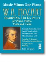 MOZART Piano Quartet No. 2 in Eb major, KV493 - Accompaniment CD (Audio) Sheet Music