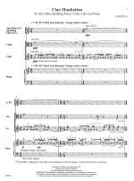 Ciao Manhattan - FULL SCORE - LARGE Sheet Music