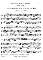 C.H. Hohmann, Practical Violin Method - STUDENT BOOK Sheet Music