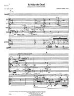 To Wake The Dead - SCORE - PERFORMANCE Sheet Music