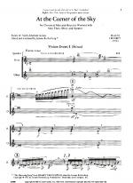 At The Corner Of The Sky - FULL SCORE - LARGE Sheet Music