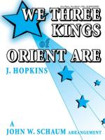 We Three Kings of Orient Are - Sheet Music Sheet Music