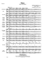 Mars, From The Planets - Opus 32 SCORE AND PART(S) Sheet Music
