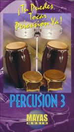 Percusion Vol. 3, Spanish Only DVD (You Can Play Percussion Now! Volume 3 DVD) Sheet Music