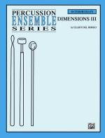 Dimensions III (For 4 Players) - Conductor Score & Parts Sheet Music