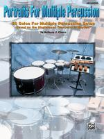 Portraits for Multiple Percussion (50 Solos for Multiple Percussion Setup Based on the Rhythms of Po Sheet Music