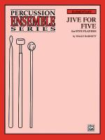 Jive for Five (For 5 Players) Sheet Music