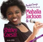 Mahalia Jackson/Shirley Caesar Gems - Karaoke CD (Audio) Sheet Music