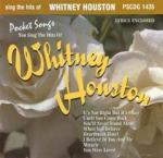 Sing The Hits Of Whitney Houston - Karaoke CDG (Audio+Graphics) Sheet Music